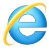Logo d'internet explorer 10